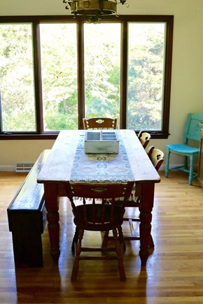 Orleans Cape Cod vacation rental - Family dining room set