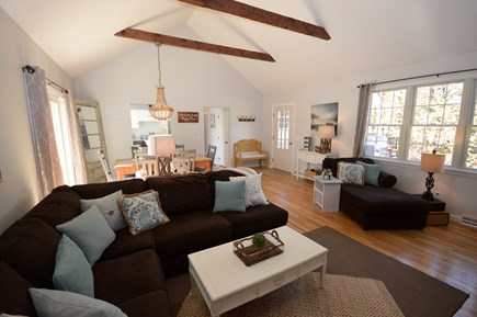 Orleans Cape Cod vacation rental - Gorgeous living room with plenty of light, seating