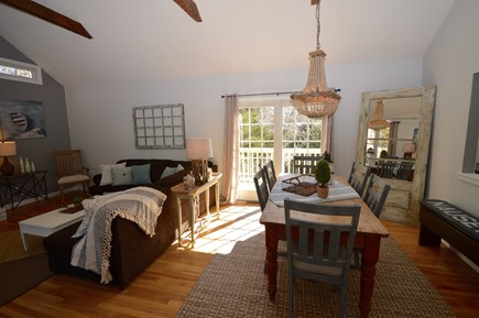 Orleans Cape Cod vacation rental - Open dining room and living room