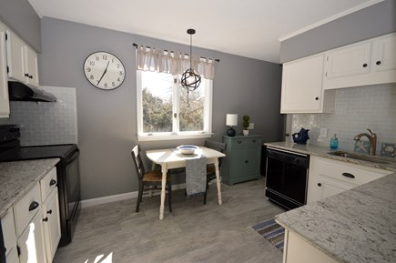 Orleans Cape Cod vacation rental - Light filled kitchen with breakfast nook