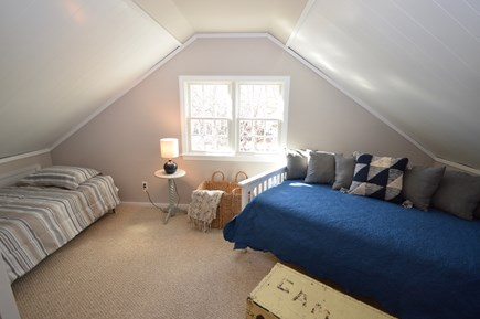 Orleans Cape Cod vacation rental - Upstairs bedroom-4 twins plus twin daybed