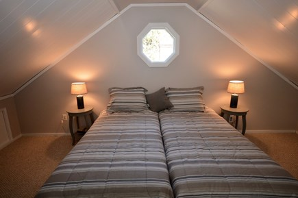 Orleans Cape Cod vacation rental - Two of the 4 upstairs twins can make a split king