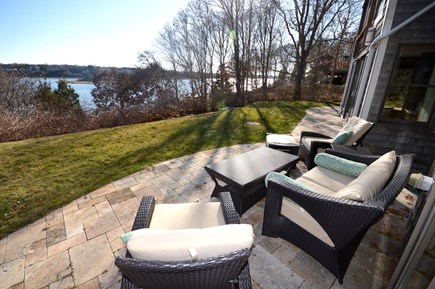 Eastham Cape Cod vacation rental - Enjoy patio overlooking Town Cove