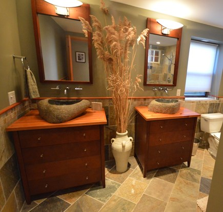 Eastham Cape Cod vacation rental - Two sinks in master bathroom