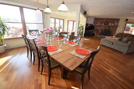 Eastham Cape Cod vacation rental - Spacious open-concept living and dining area