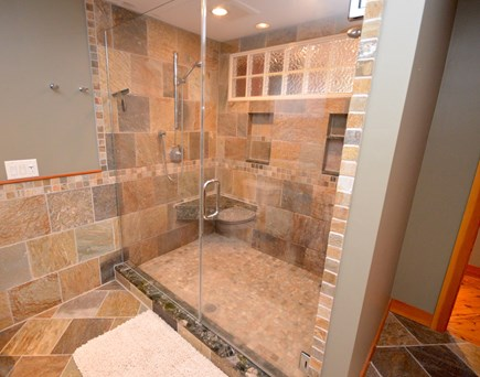 Eastham Cape Cod vacation rental - Stunning shower in master bath