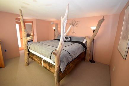 Eastham Cape Cod vacation rental - Bright room with beautiful king bed, water views