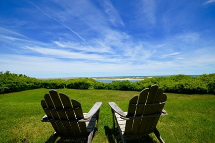 Orleans Cape Cod vacation rental - Relaxing sitting area overlooking Nauset Inlet