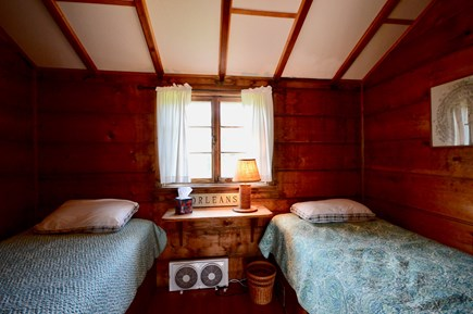 Orleans Cape Cod vacation rental - Downstairs bedroom 2 with two twins