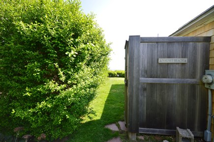 Orleans Cape Cod vacation rental - Fully enclosed outdoor shower for rinsing off after the beach