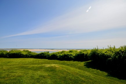 Orleans Cape Cod vacation rental - Large, private backyard with views of the ocean