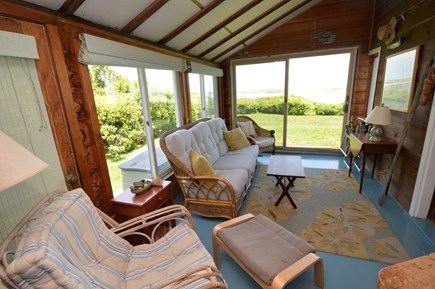 Orleans Cape Cod vacation rental - Sun room with beautiful views of Nauset Inlet