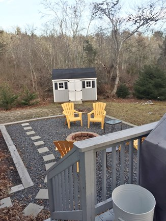 Centerville Centerville vacation rental - Backyard and Fire pit