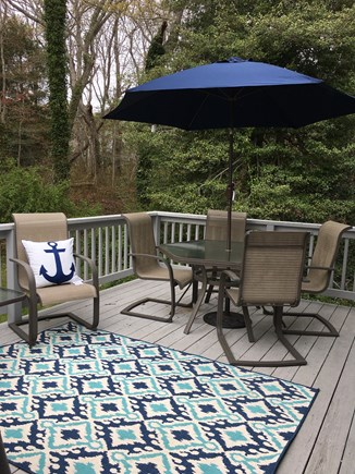 Centerville Centerville vacation rental - Private Back Deck