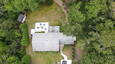 Centerville Cape Cod vacation rental - Ariel View of house