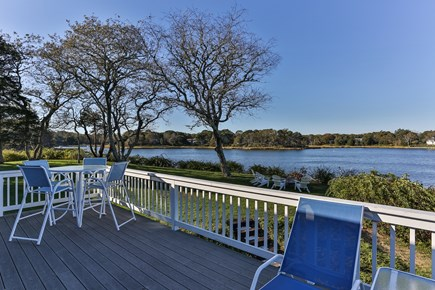 East Orleans Cape Cod vacation rental - Beautiful views from the deck