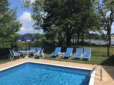 East Orleans Cape Cod vacation rental - Fabulous pool with water views