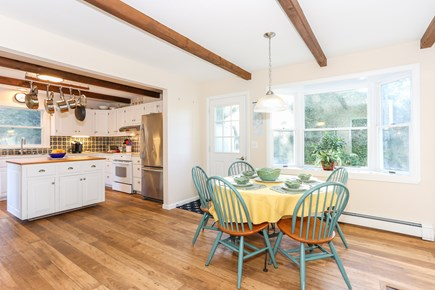 East Orleans Cape Cod vacation rental - Sunny kitchen with informal dining