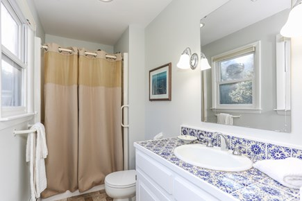 East Orleans Cape Cod vacation rental - Master bath with shower