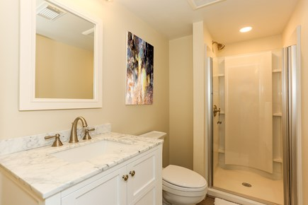 East Orleans Cape Cod vacation rental - Lower level bath with shower