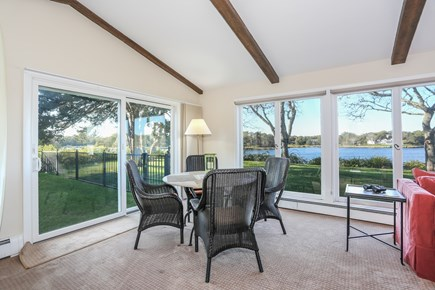 East Orleans Cape Cod vacation rental - Living room overlooking the water