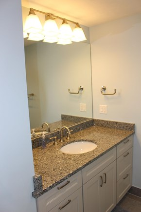 Dennis Port Cape Cod vacation rental - Jr. Suite bathroom with custom tile shower.