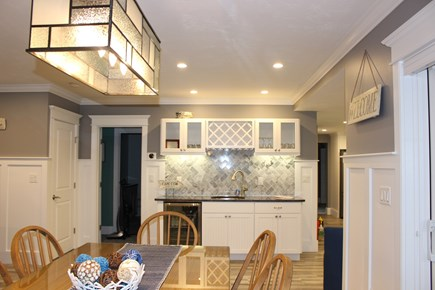 Dennis Port Cape Cod vacation rental - Dining and Wet Bar