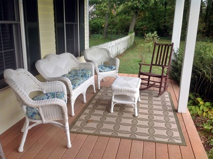 Chatham Cape Cod vacation rental - Front porch