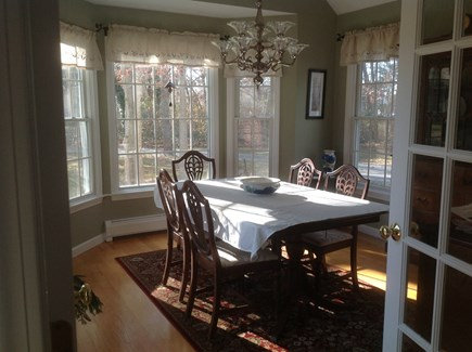 Chatham Cape Cod vacation rental - Sun-filled dining room