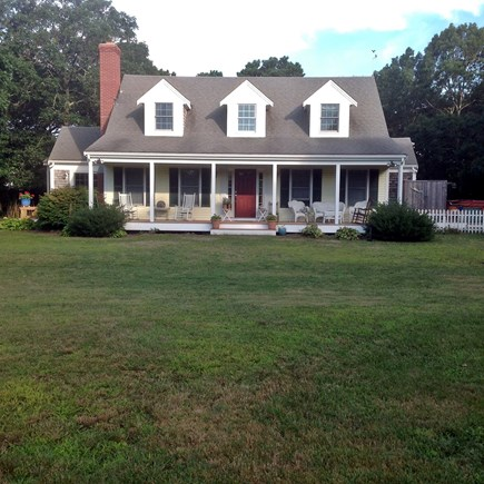 Chatham Cape Cod vacation rental - Front of house with spacious porch - very secluded