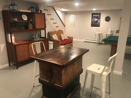 Harwich, 3 Captain Scott Road  Cape Cod vacation rental - Entertainment Ctr - Mix some drinks at home and save $$$