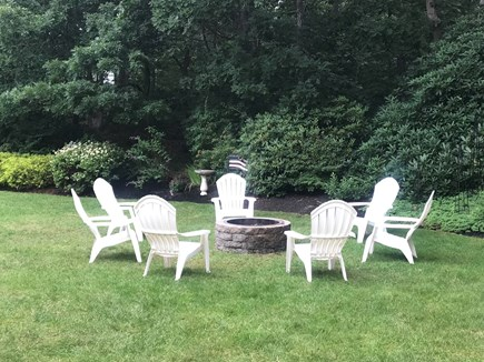 Harwich, 3 Captain Scott Road  Cape Cod vacation rental - Big beautiful back yard, very private.  Great for yard games !!!