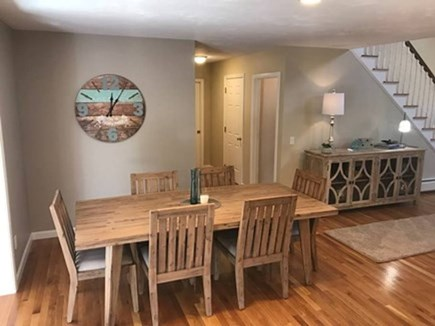 Harwich, 3 Captain Scott Road  Cape Cod vacation rental - Dining for 6 just off the kitchen and sun room