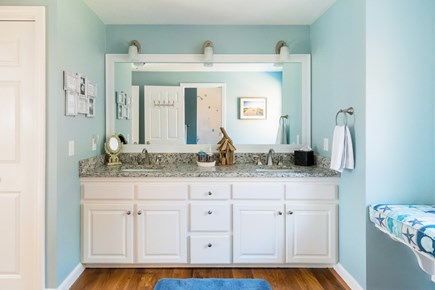 Harwich Cape Cod vacation rental - Baths are very nice and updated - 2.5 baths and 1 outdoor shower