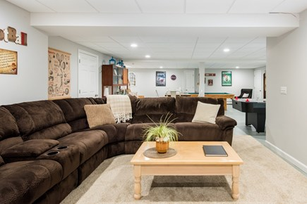 Harwich Cape Cod vacation rental - Recline in this oversized sofa and enjoy the large screen TV