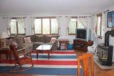 Eastham Cape Cod vacation rental - Open living room
