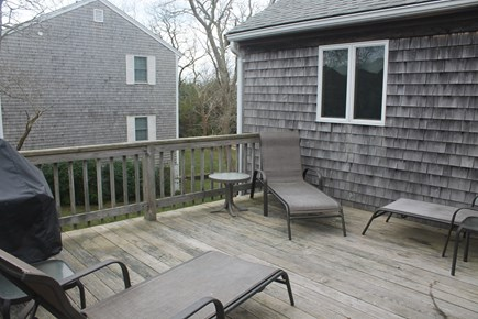 Eastham Cape Cod vacation rental - Deck with gas grill