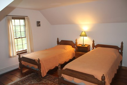Eastham Cape Cod vacation rental - Bedroom with two twins