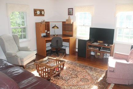 Eastham Cape Cod vacation rental - Den with TV