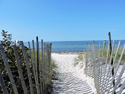 West Falmouth Cape Cod vacation rental - Beach access