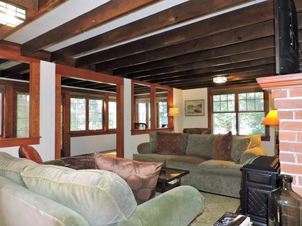 West Falmouth Cape Cod vacation rental - Living room