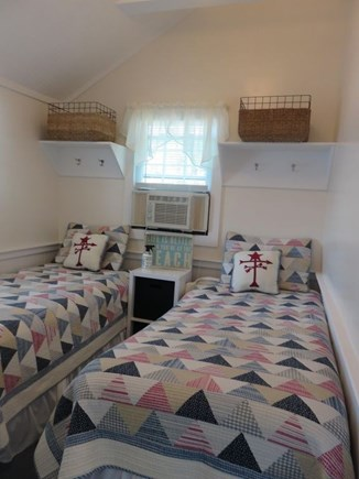 Eastham Cape Cod vacation rental - Air conditioned bedroom with two twin beds