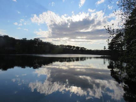 Eastham Cape Cod vacation rental - A view of the beautiful Ministers Pond from our cottage