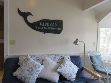 Eastham Cape Cod vacation rental - Living area with futon