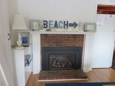 Eastham Cape Cod vacation rental - Gas fireplace for those cool fall and early spring evenings