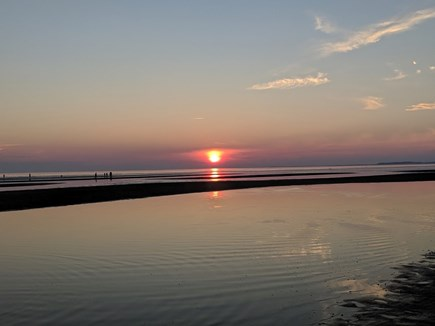 Eastham Cape Cod vacation rental - Bayside sunset