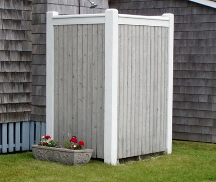 Maravista, Falmouth Heights Cape Cod vacation rental - Outside Shower
