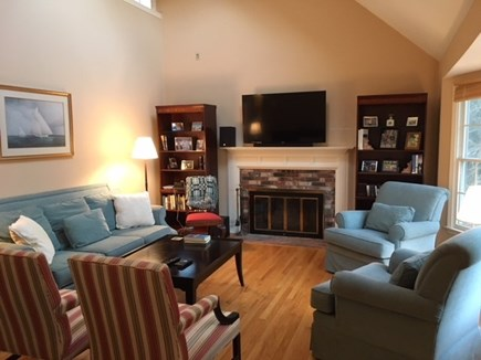 Harwich Cape Cod vacation rental - Living area with flat screen TV