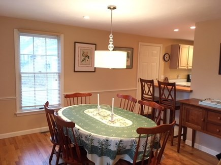Harwich Cape Cod vacation rental - Dining room with small breakfast bar