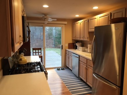 Harwich Cape Cod vacation rental - Kitchen with stainless steel appliances